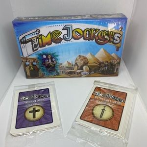 Time Jockeys Boardgam With Two Expansion Packs
